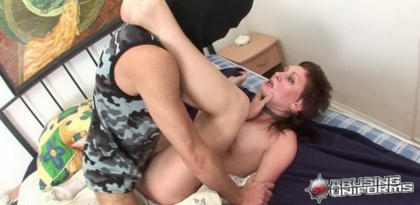 she got fuck by horny army